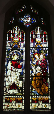 Good Shepherd Window: Photo C Kebbell