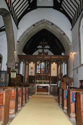 Nave  Rood Screen: Photo C Kebbell