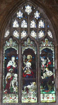 Nativity Window: Photo C Kebbell
