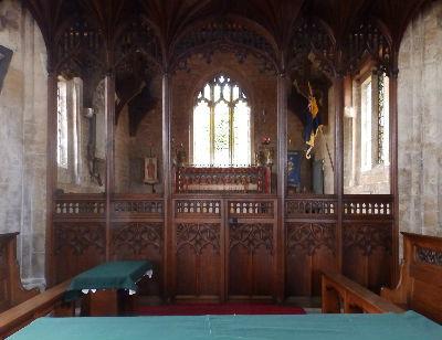 Choir from Nave Altar