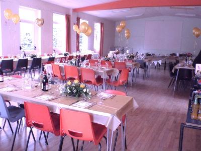 Hall Set for Meal
