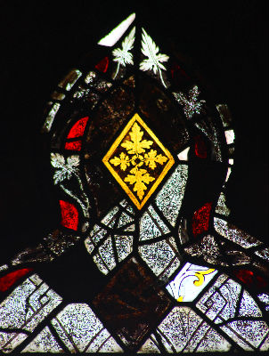 Medieval Glass Fragments - Vestry Window