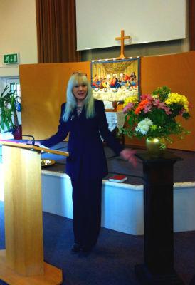 Louise Preaching