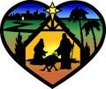 nativity heart