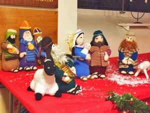 Nativity at Christmas tree festival