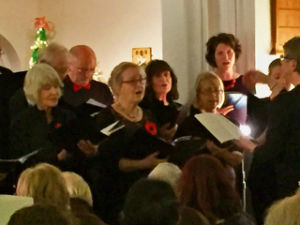 Christmas tree concert Pirbright Singers