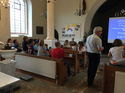 Messy church - the good Samaritan story