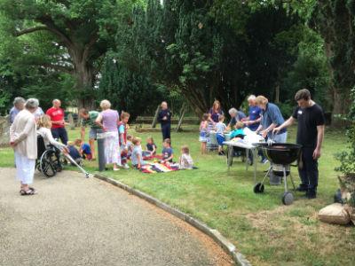 Messy church July - picnic