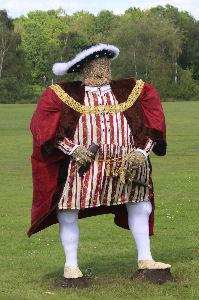 Scarecrow Henry VIII