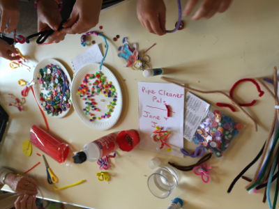 Messy church July 2017 - creating