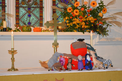The Ark made by the Village Craft Group