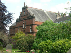 St. Andrews Parish Rooms, completed in 1894. Today it is managed by Penrith Parish Centre Limited as a resource for the whole Penrith community.
