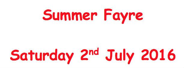 Summer Fayre Ad