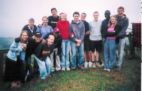 Team in Kenya