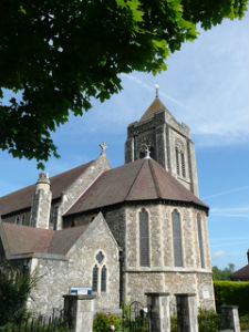 Exterior of St Lukes Church TW