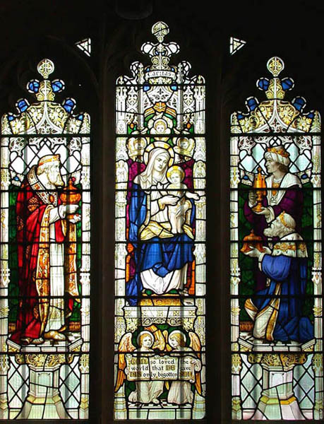 Lady Chapel Epiphany window
