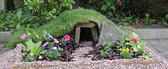 Easter Garden empty tomb