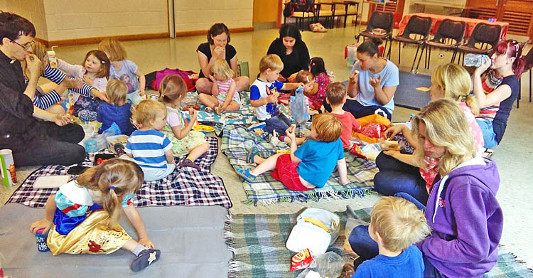 Tots and Teddies picnic