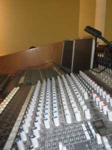 Professional sound and lighting equipment