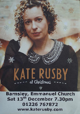 Kate Rusby Concert - ring 01226 767872 for tickets