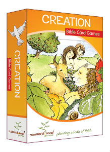 creation Bible card games