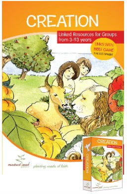 Creation activity book and game
