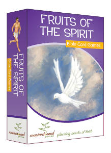 fruits of the spirit Bible card games