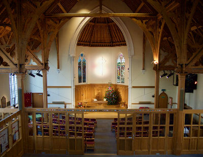 Interior of our church