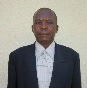 Pastor Basole of Grace Church Lwensamya
