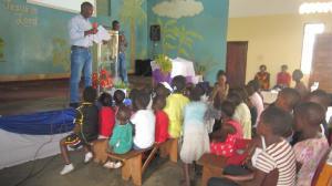 Family Day 2014 Robert preaching
