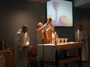 Fr Steve elevating