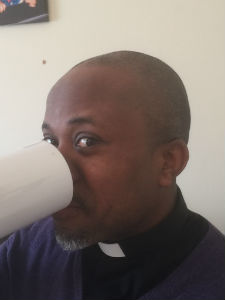 Fr Nnamdi and mug