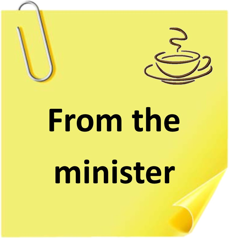 Post it Minister
