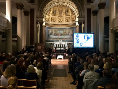 Alexandra Shulman at St Peters 16th March 2017