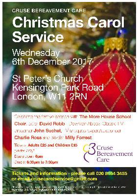 Christmas Carol Service Cruse