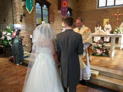 Wedding at St. Lukes