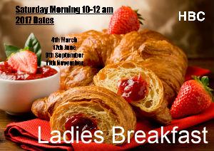 Ladies Breakfast dates