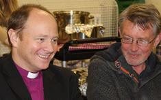 Bishop Rob visits St Dionis