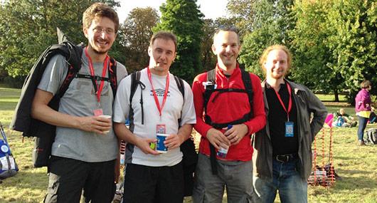 Get Involved - Sponsored walk group