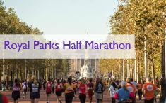 Spots available in Royal Parks half marathon