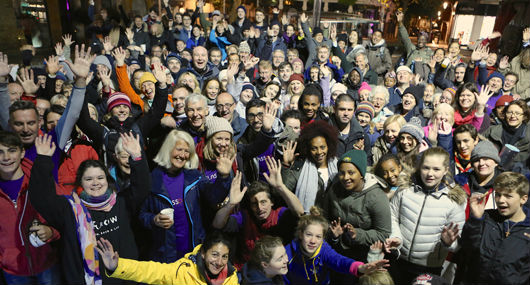 Sleep Out 2016 survivors photo
