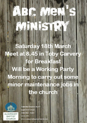 mens ministry march