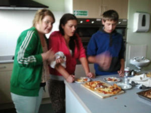 Bournmoor Pizza party