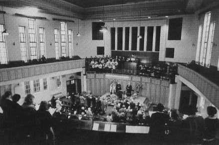 Archway, Main Hall, 1979