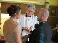 Hauxton wedding 1