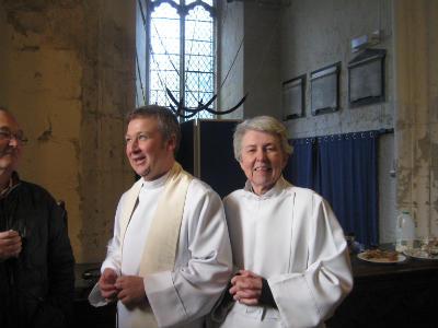 Archdeacon and Brigid