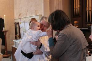 Baptism with Brigid