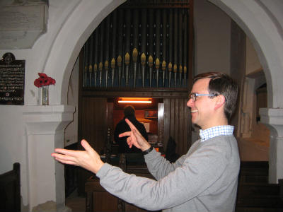 Newton Choir Alastair and Mike 1