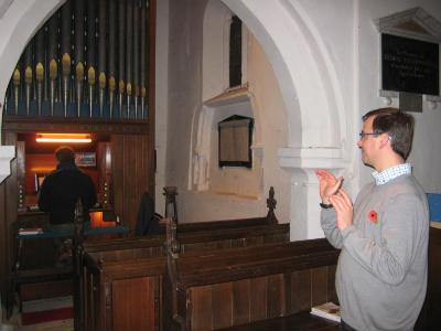 Newton Choir Alastair and Mike 2
