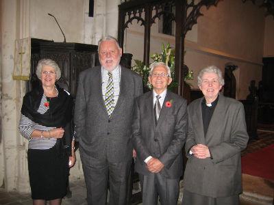 Patsy, Terry Waite, Norman, Brigid